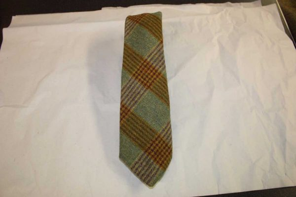Scottish 100% Wool Woven Tweed Tie (Braid)