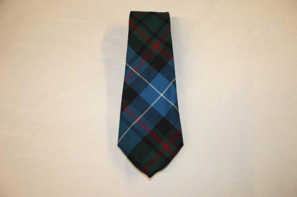Scottish 100% Wool Woven Tartan Tie from Kingcraig Brora - Macrae