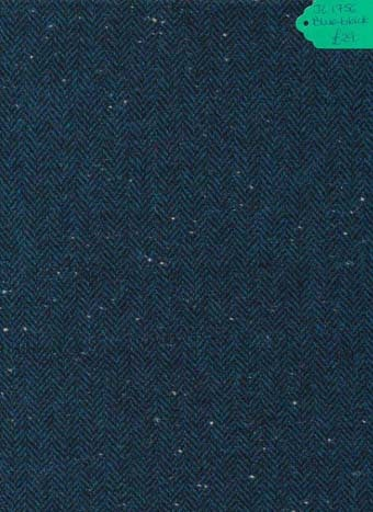 Kingcraig Fabrics Blue Black