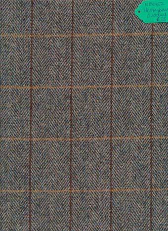 Kingcraig Fabrics Herringbone Overcheck