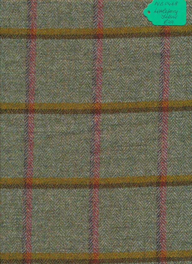 Kingcraig Fabrics Littleferry Yellow 1