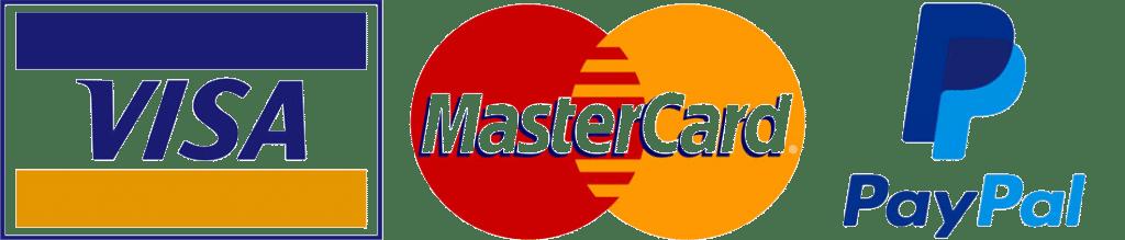visa mastercard paypal copy