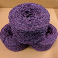 Heather (Purple Marl)  DK weight yarn 100 gram ball
