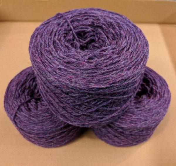 Heather (Purple Marl)  DK weight yarn 100 gram ball
