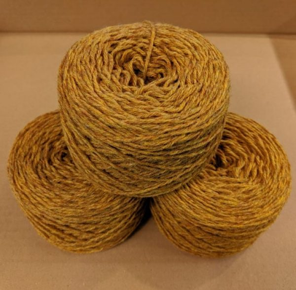 Cumin Aran weight yarn 100 gram ball