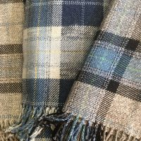 Lambswool and Cotton Throws