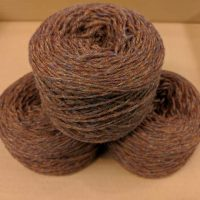 Heathland (Autumn Brown Marl) DK weight yarn 100 gram ball