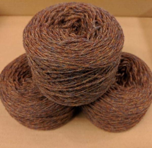 Heathland (Autumn Brown Marl) DK weight yarn 100 gram ball