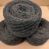 Granite (Mid Grey) Aran weight yarn 100 gram ball