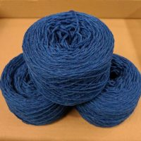 New Bright Blue (Vibrant Blue Marl) DK weight yarn 100 gram ball