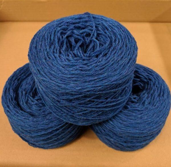 New Bright Blue (Vibrant Blue Marl) DK weight yarn 100 gram ball