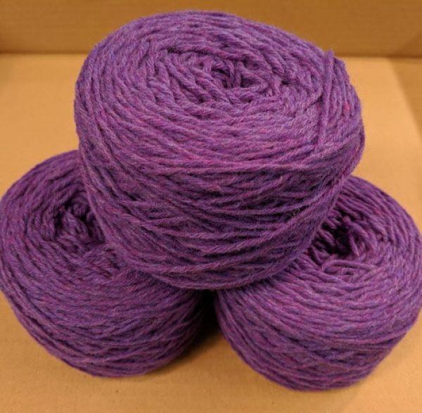 New Amethyst (Purple Marl)  Aran weight yarn 100 gram ball