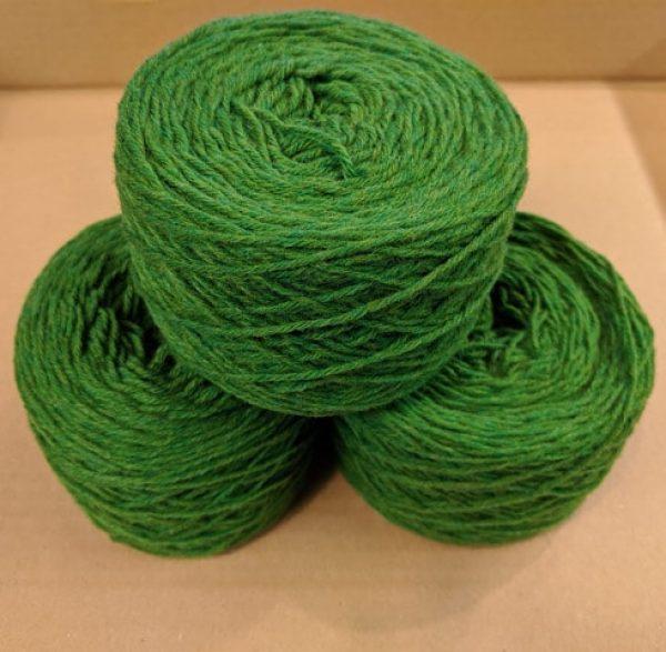 New Lawn (Bright Green) Aran weight yarn 100 gram ball