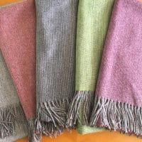 All Wool Rustic Weave Throws