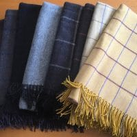 100% Cashmere throws