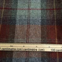 100% Wool Fabric, Deep Autumnal Mix