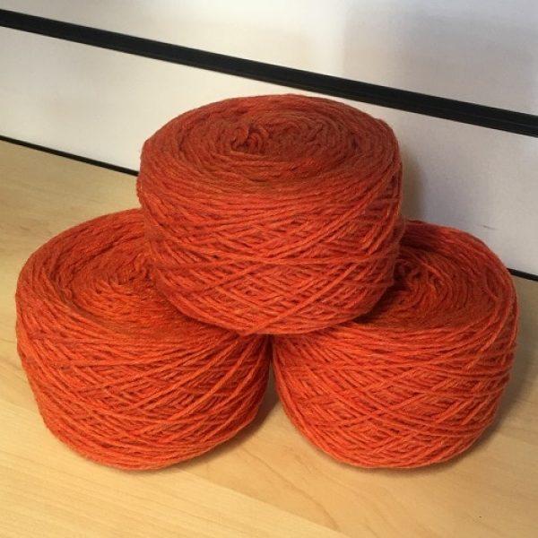 Jaffa (Light Orange) Aran weight yarn 100 gram ball