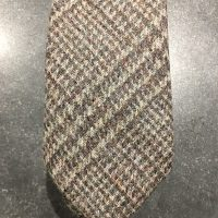 Scottish 100% Wool Woven Tweed Tie - Ousdale Grey