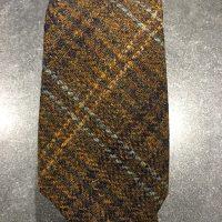 Scottish 100% Wool Woven Tweed Tie - Wasp