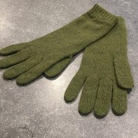 Ladies Lambswool Angora Gloves - Fern