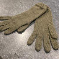 Ladies Lambswool Angora Gloves - Sage